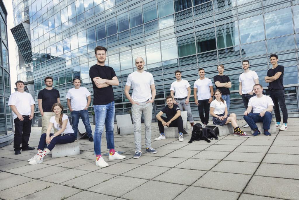 il team di Dishtracker a Vienna...